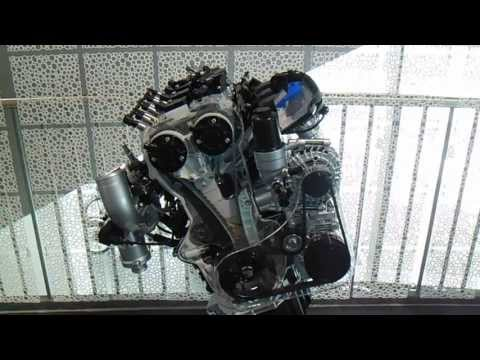 Audi engine at Audi Museum Mobile Ingolstadt
