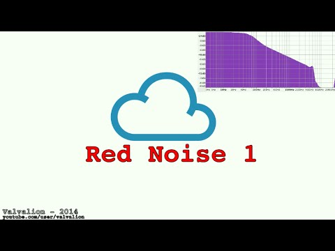 Red Noise 1 - for sleeping in a noisy environment