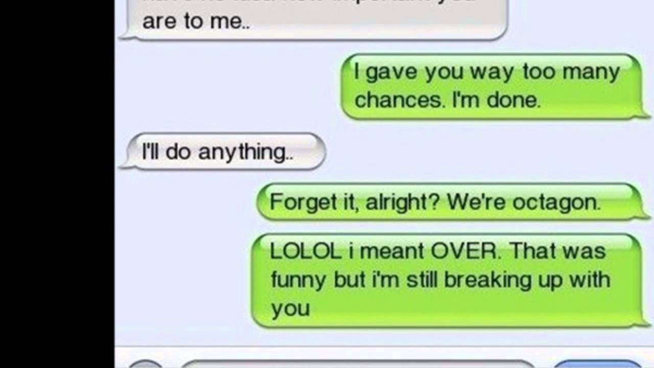 The Best Break Up Text Messages