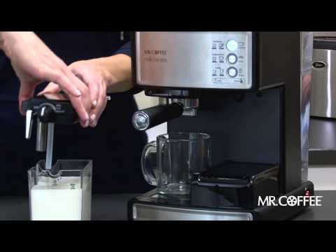 Mr. Coffee Cafe Barista - First Use