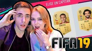 MI NOVIA JUEGA FIFA 19 FUT DRAFT !!