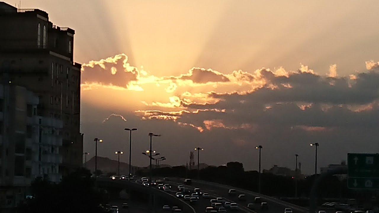 صباح مدينة جدة منظر شروق الشمس Youtube