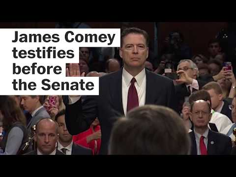 James Comey's testimony, in less than three minutes