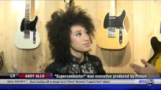 Andy Allo talks music and Prince with AXSLive