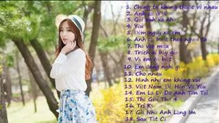 Album nhạc trẻ hot tháng 9/2016 - Nhạc trẻ tháng 9 năm 2016