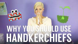 Why You should Use Handkerchiefs: Zero Waste Bathroom Tip #6 with Katie