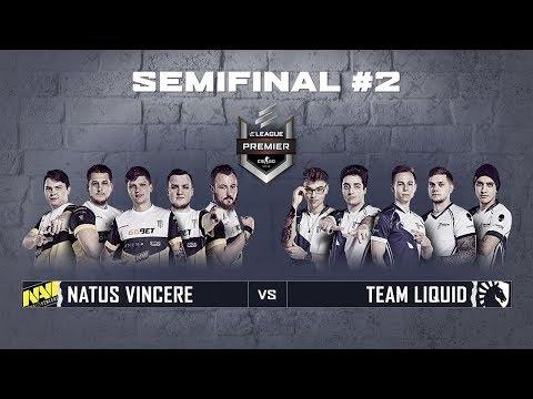 ELEAGUE Premier 2018 - Semifinals Match #2: Na'Vi Vs Team Liquid