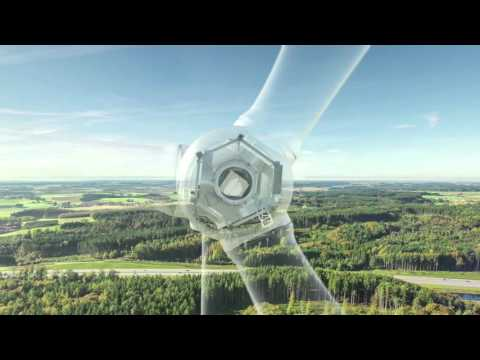 Wind Turbine 3D Animation - Nordex