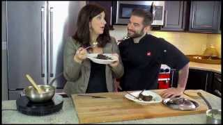 Braised Short Ribs, Polenta and Swiss Chard: Carey Out