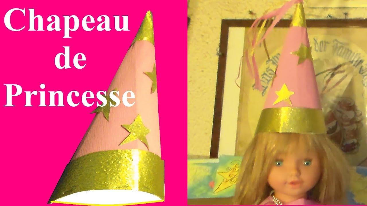 Fabriquer Un Chapeau De Princesse Bricolage Pour