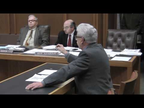 Granite State Christian School Lobbyist James Pinard on HB 1607