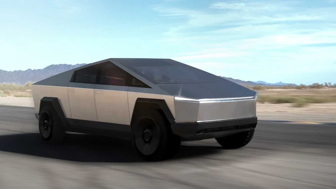 2022 Tesla Cybertruck HD - YouTube