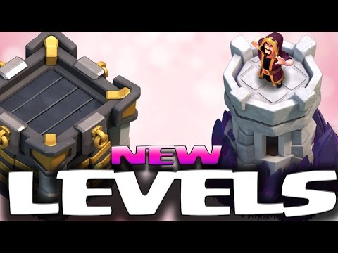 NEW LVL 10 WIZARD TOWER, LVL 7 CLAN CASTLE & LVL 12 WALLS | DECEMBER UPDATE 2016 | Clash of Clans