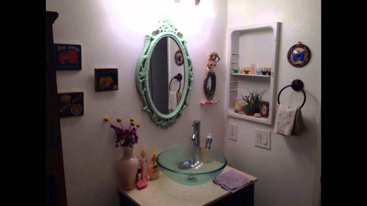 Bohemian Bathroom Decor Mirror Bathroom Wall Decor Ideas