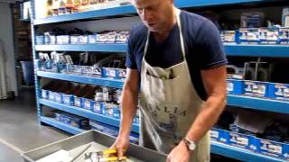 Cutting Glass Tiles easy and inexpensive