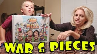 WAR AND PIECES BY ROMAN ATWOOD!