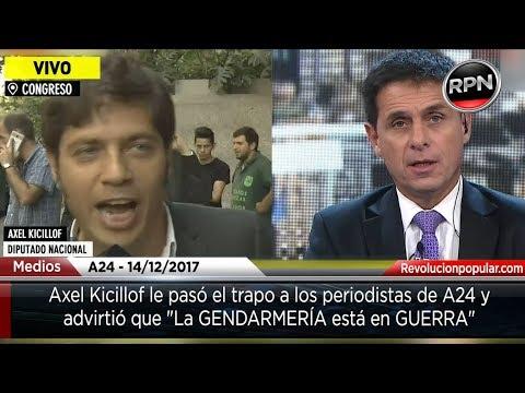 Download Youtube: Axel Kicillof sacó a pasear a los periodistas de A24 y advierte 'Estamos en guerra'