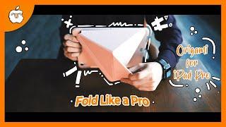 """เคสไอแพด Sheep Origami by AppleSheep (พับยังไงให้โปรสมชื่อ iPad Pro 11"""" ??)"""
