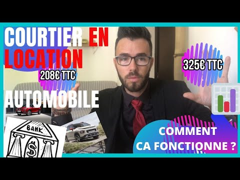 ✅🚗COMMENT FONCTIONNE UN COURTIER EN LOCATION 🚗AUTOMOBILE LLD💰#location#leasing#abonné#automobile