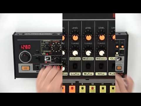 """""""Editing the Sound"""" Roland TR-08 #05"""