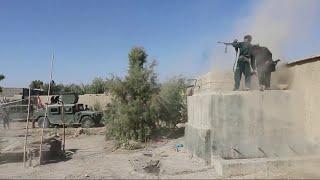 درگیری نیروهای افغان و طالبان در نزدیکی مرزهای ایران