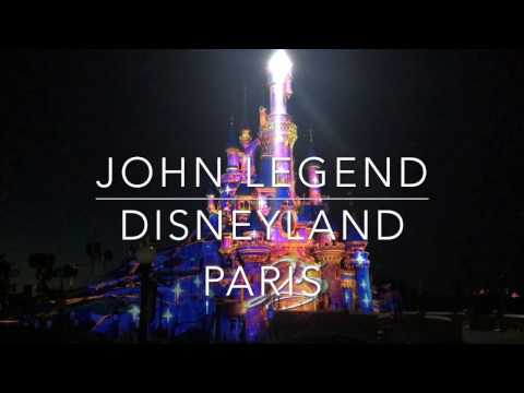 John Legend LIVE at Disneyland Paris' 25th Anniversary!