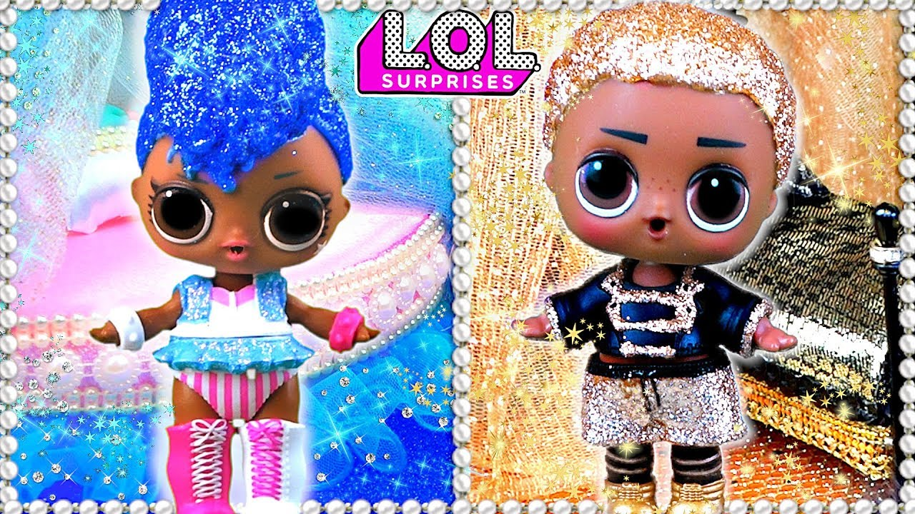 Блестящие Куклы Лол Сюрприз - Пара или нет Новый Дом ЛОЛ KING BEE в Мультики LOL Dolls   Заработок на Автопилоте