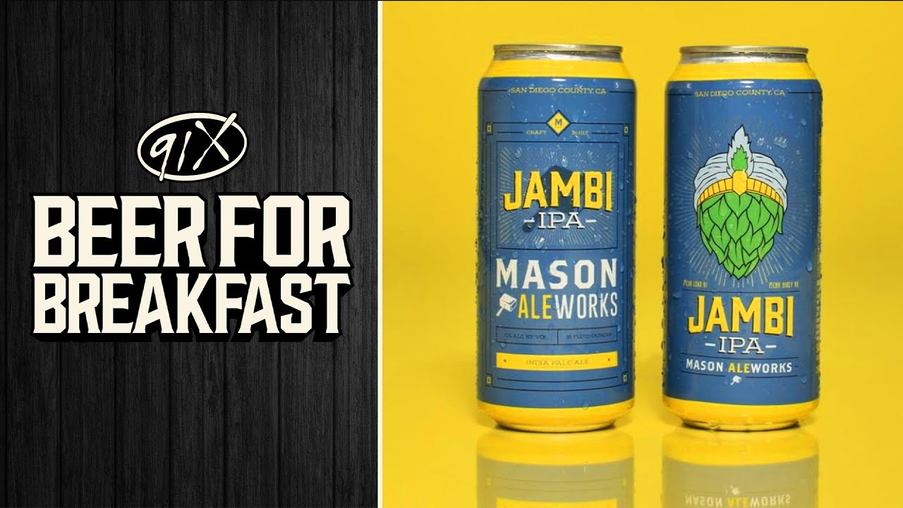 Beer for Breakfast ABV with Mason Ale Works!