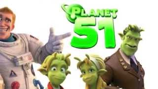 Planet 51 Gameplay Xbox  360 with Connor