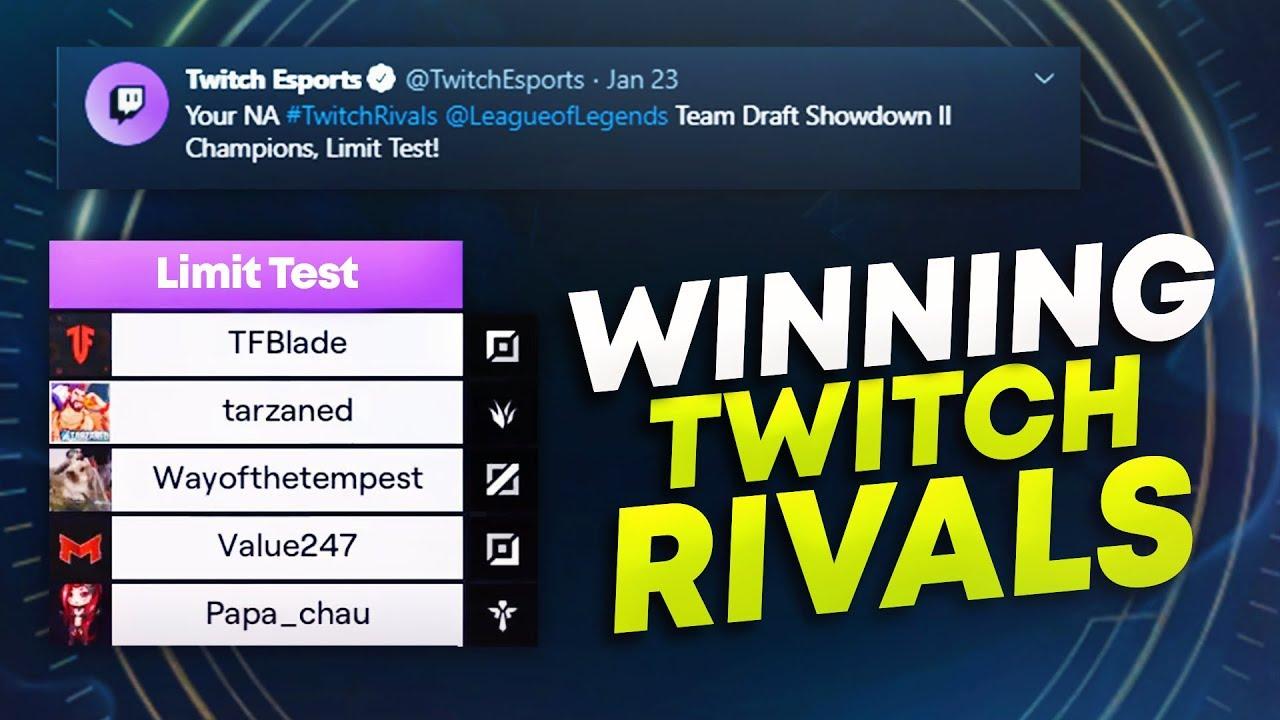 I WON TWITCH RIVALS (AGAIN)! FINALS VS TEAM VOYBOY | League of Legends thumbnail