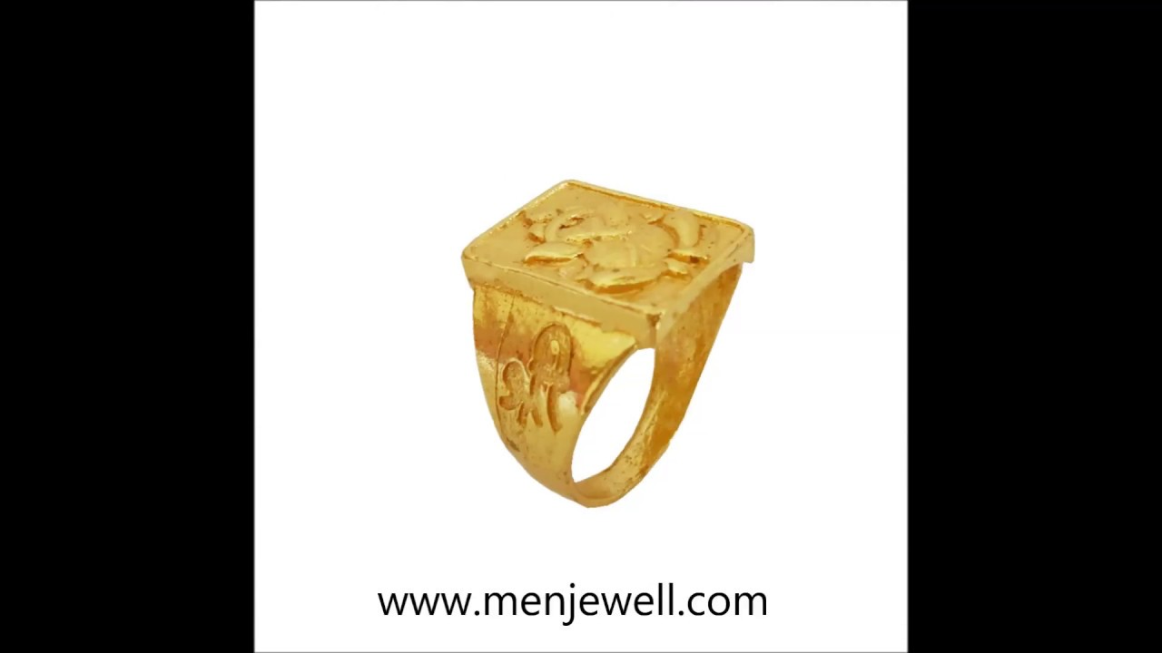 Latest Jewellery Design Mens Jewellery Gold Ring collection for ...