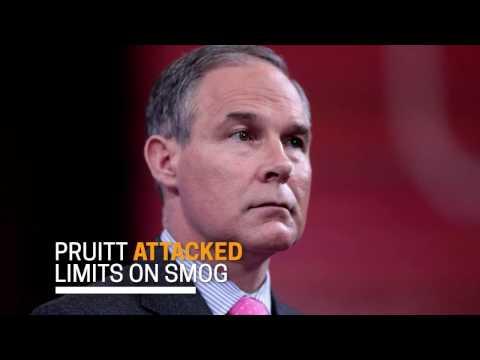Who is Scott Pruitt?