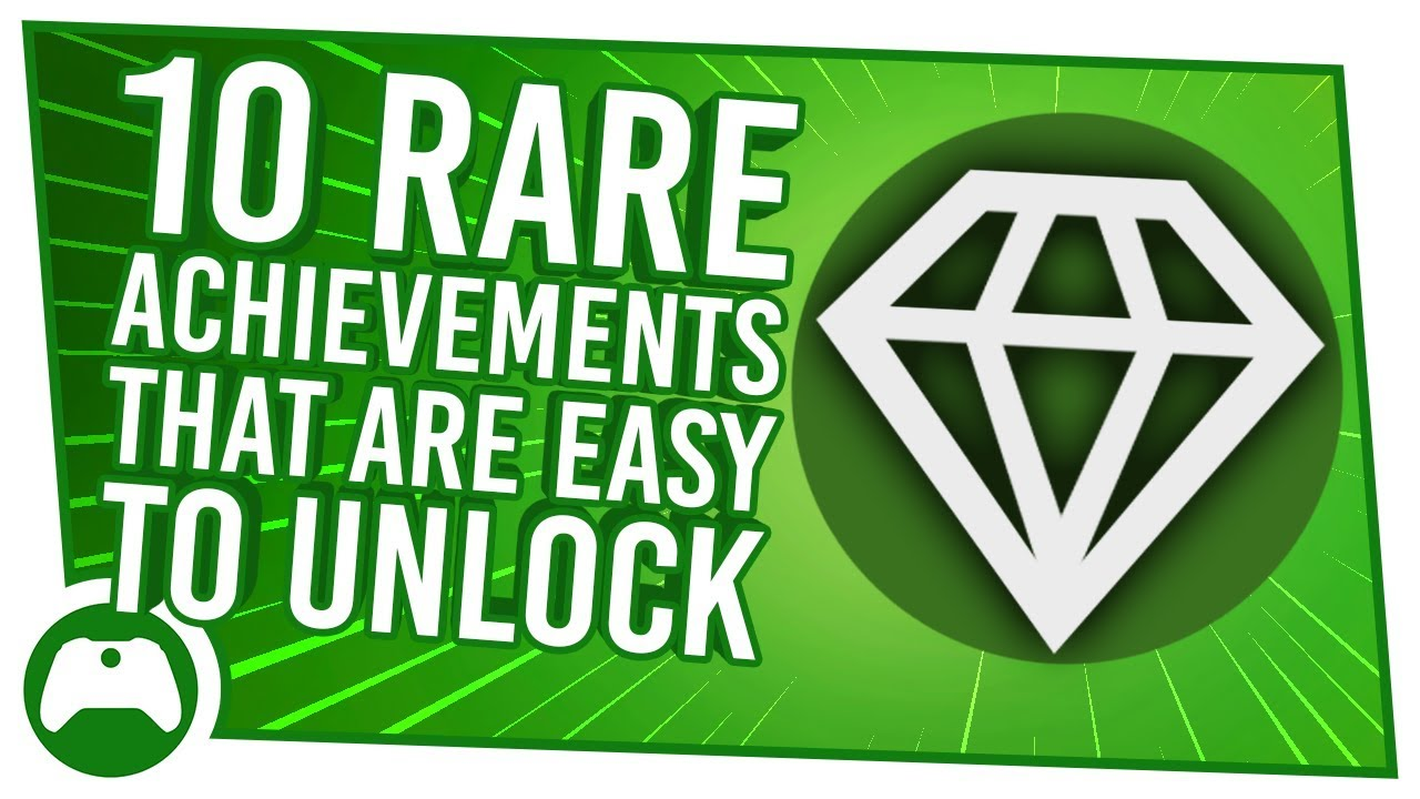10 Easy Rare Achievements You Really Should Have Unlocked