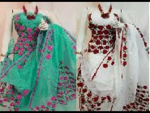 Latest Model Churithar With Designer Dupattas Designs || Designer Partywearsalwar Kameez Suits
