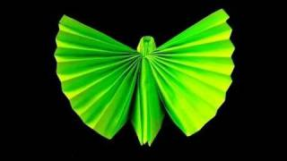 How To Make An Origami (napkin) Butterfly