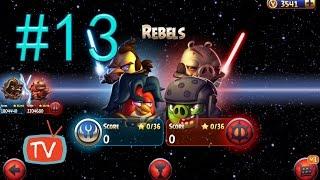 Angry Birds Star Wars 2 - Part 13 Rebels - Birds Side Gameplay Walkthrough
