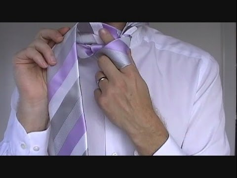 How to Tie a Tie | Windsor Knot | Step by Step - YouTube