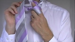 How to Tie a Tie | Windsor Knot | Step by Step
