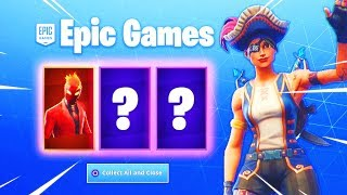 *NEW* FREE SKINS IN FORTNITE RIGHT NOW!