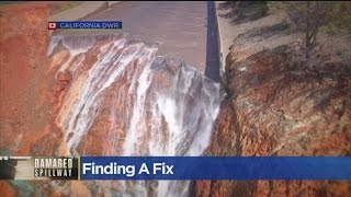 Temporary Fix For Oroville Dam Spillway...