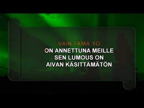 LUMOTTU YÖ - karaoke