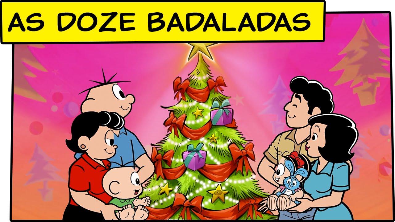 As Doze Badaladas Dos Sinos De Natal Especial De Natal 2011 Turma Da Mônica