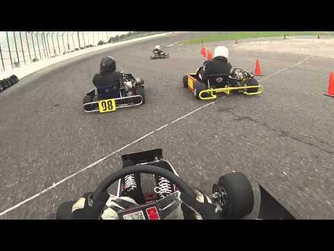 Flat Rock Speedway Go Karts