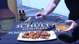 Schultz's Gourmet Bacon Wrapped Shrimp