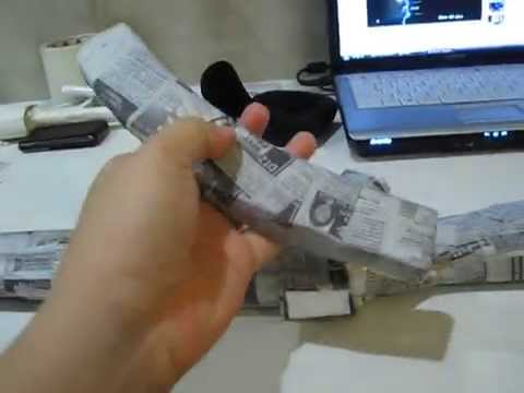 how to make a paper gun that shoots without blowing