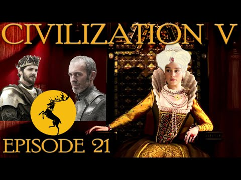 Civilization V - Winter is Coming - Moving for Storm's End! Ep.21