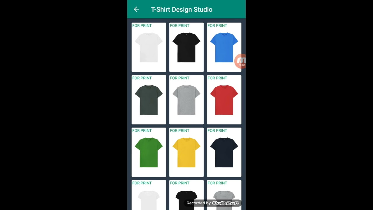 T Shirt Design Studio Android Application Youtube