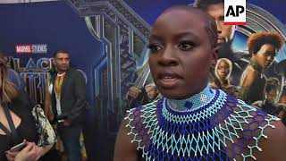 Lupita Nyong'o, Danai Gurira bring 'Black Panther' home to South Africa