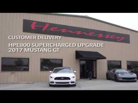 800 HPE 2017 Mustang GT Supercharged | Hennessey Performance