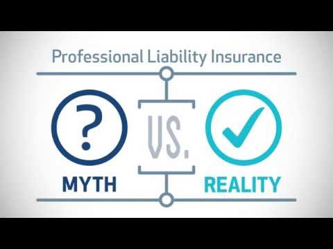 Myth vs Fact Professional Liability Insurance